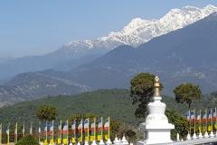 Stupas at Sheraling, India